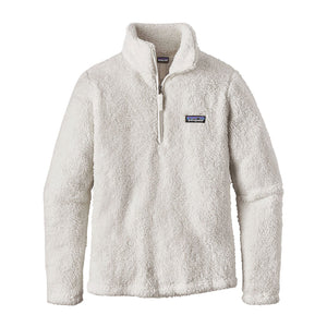 Patagonia Women's Los Gatos Fleece 1/4 Zip birch white