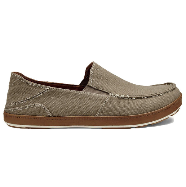 Men's Puhalu Canvas Loafer in Clay & Toffee Brown   - 1