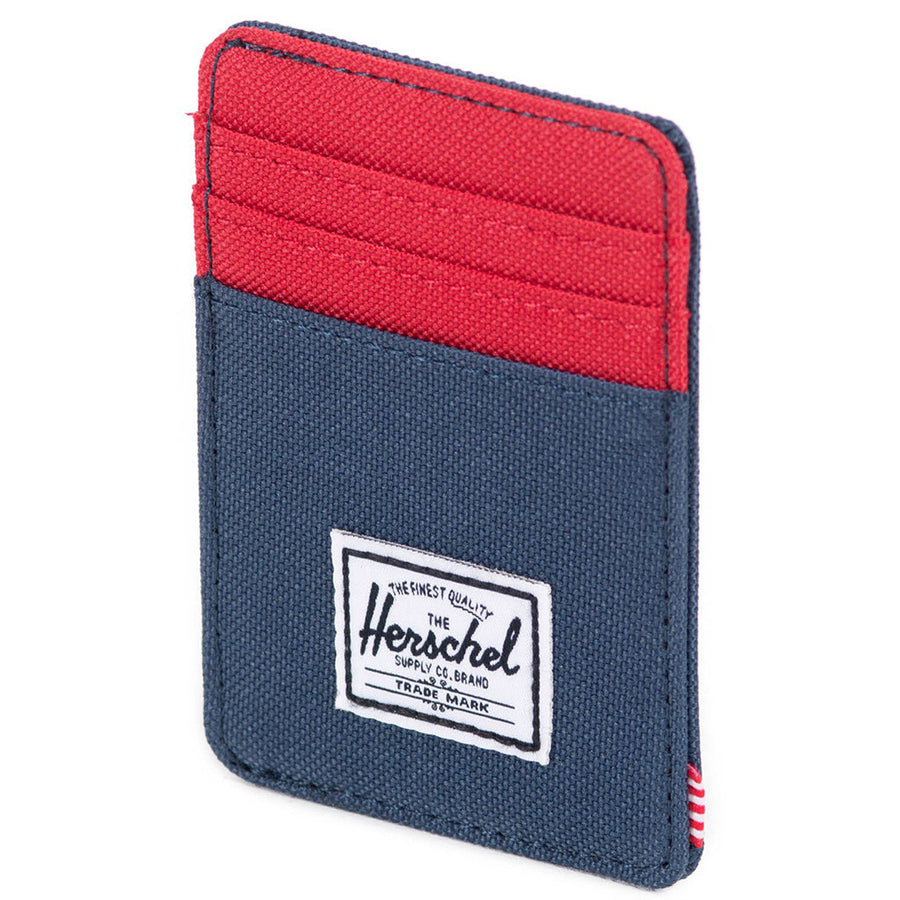 Raven Wallet in Navy and Red by Herschel Supply Co.  - 4