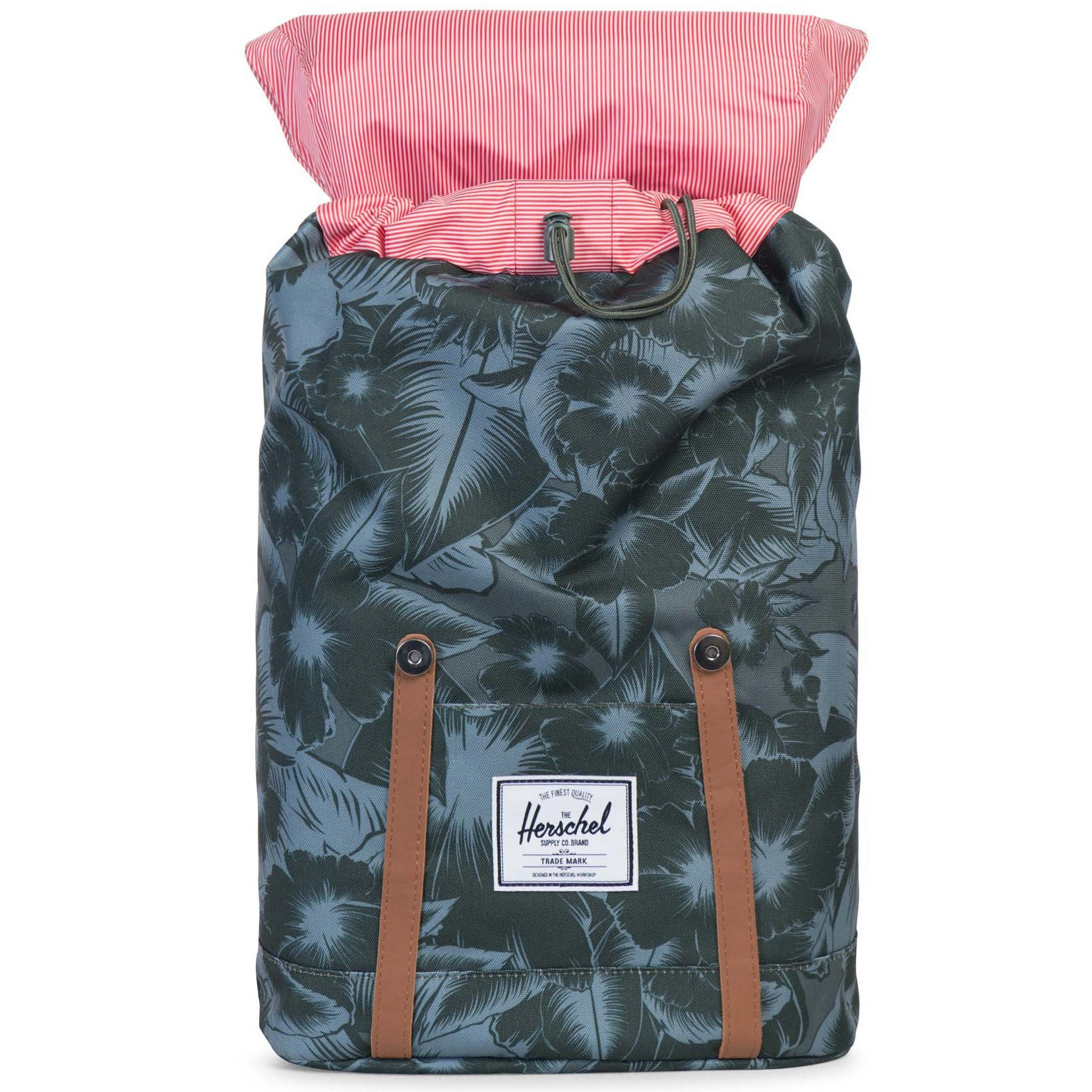 Retreat Backpack in Jungle Floral Green by Herschel Supply Co. - 2 e6925a0d7b