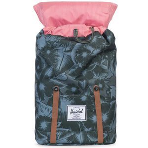 Retreat Backpack in Jungle Floral Green by Herschel Supply Co.  - 2