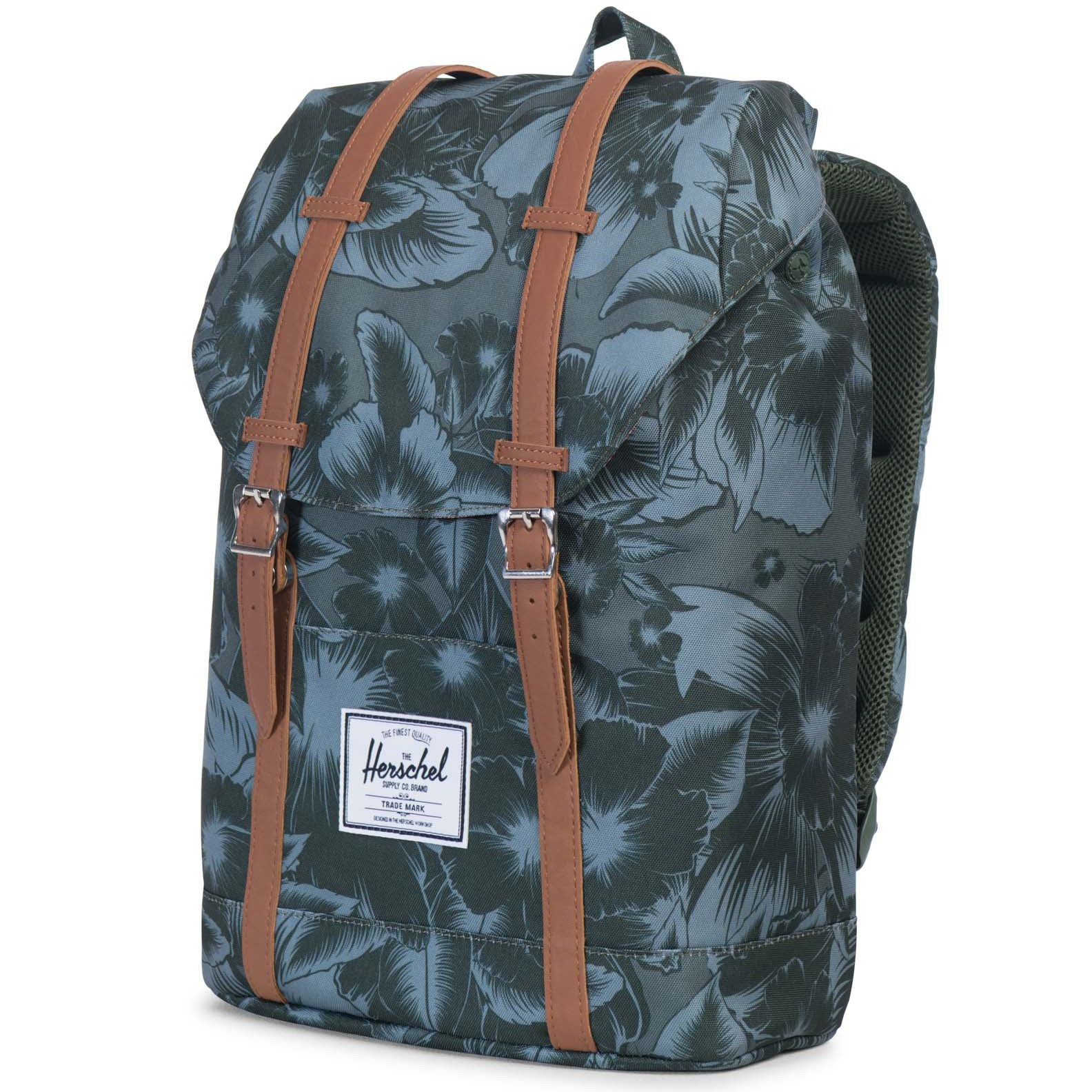 c56274994ff9 Retreat Backpack in Jungle Floral Green by Herschel Supply Co. - 1