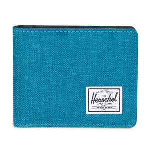 Roy Wallet in Petrol Crosshatch by Herschel Supply Co.  - 3