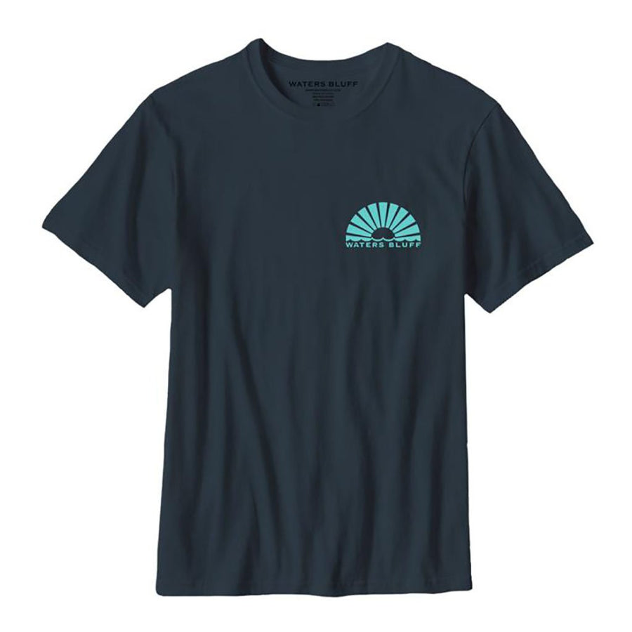 Wave 2 Natural Tee in Bluff Grey Blend by Waters Bluff