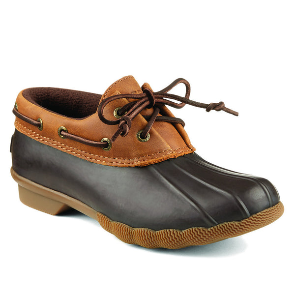 <b>PRE-ORDER</b> Women's Saltwater Isla Duck Boot in Brown/Tan by Sperry