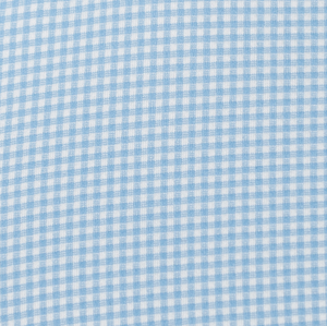 The Spread Collar Gingham Dress Shirt in Whitman Light Blue
