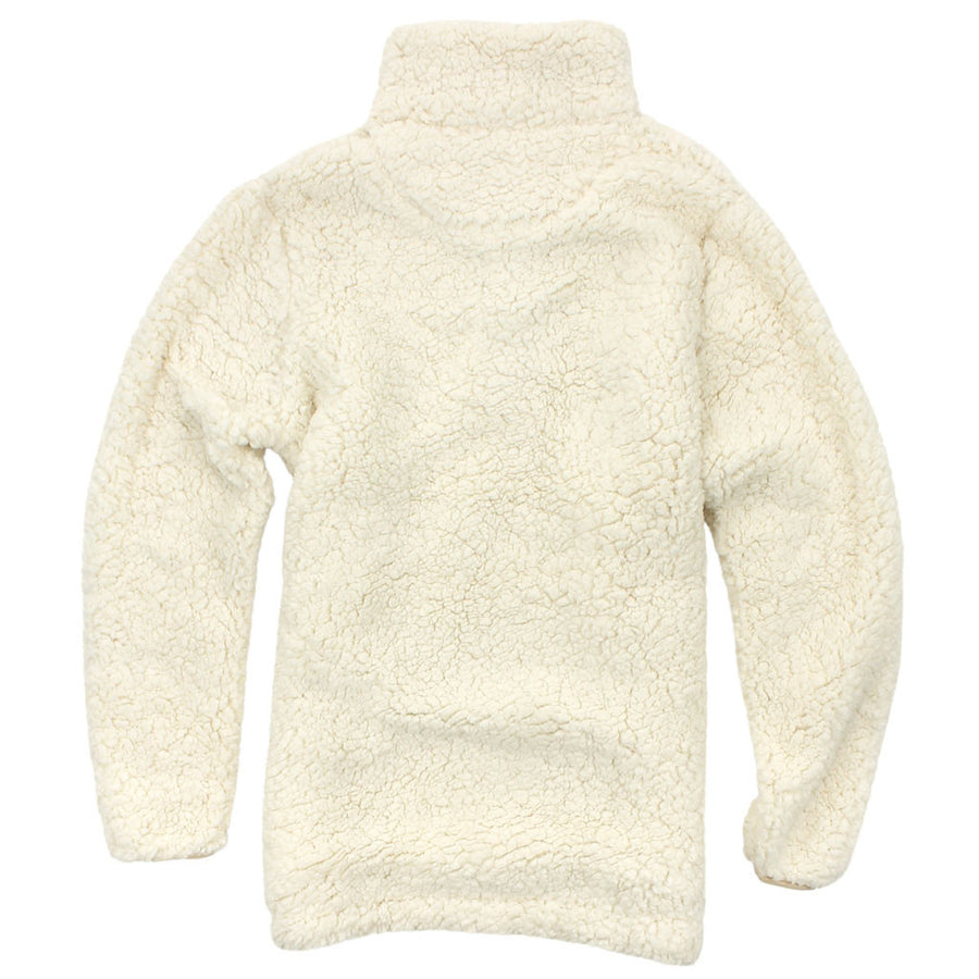 Sherpa Snap Pullover in Ivory by Everest Clothing  - 2