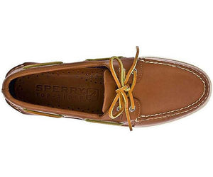 Men's A/O Boat Shoe in Tan 2