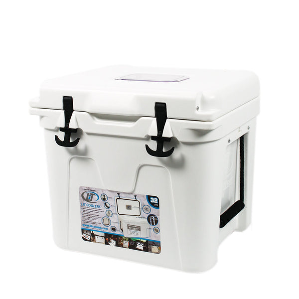 State Traditions America Cooler 32qt in White by Lit Coolers  - 1