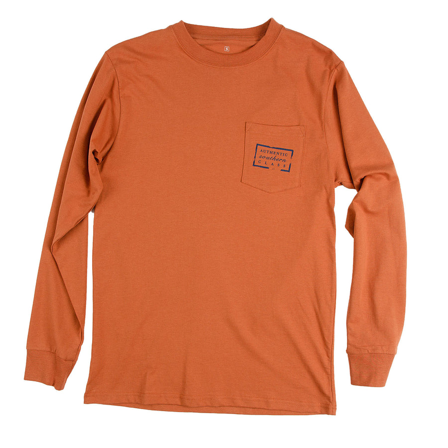 Authentic Texas Heritage Long Sleeve Tee