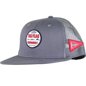 Tag Trucker Hat in Charcoal by AFTCO