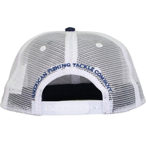 Tag Trucker Hat in Navy