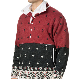 Tailgater Pullover in Sun Valley Multicolor by Blankenship Dry Goods