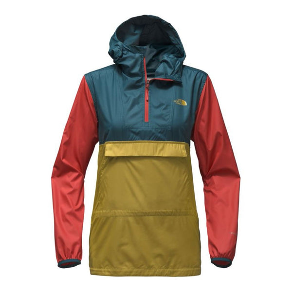 The North Face Women's Fanorak in Olivenite Yellow Multi