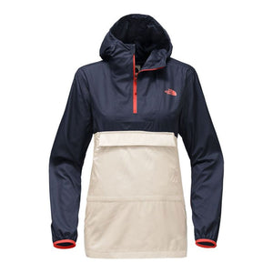 The North Face Women's Fanorak in Vintage White & Urban Navy