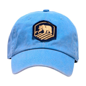 The Normal Brand Faded Active Wear Cap in Denim
