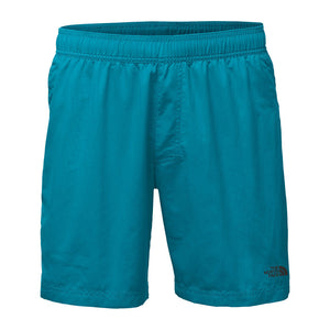 "The North Face Men's 7"" Class V Pull-On Trunks in Baja Blue"