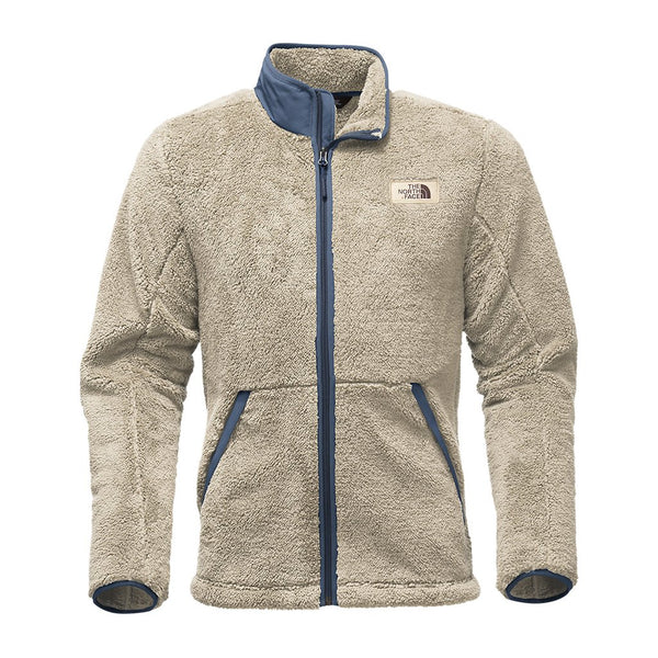 The North Face Men's Campshire Full Zip Sherpa Fleece in Granite Bluff Tan