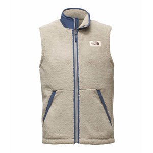 The North Face Men's Campshire Sherpa Vest in Granite Bluff Tan