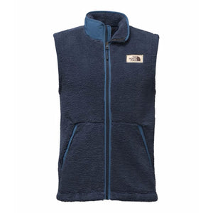 The North Face Men's Campshire Sherpa Vest in Urban Navy