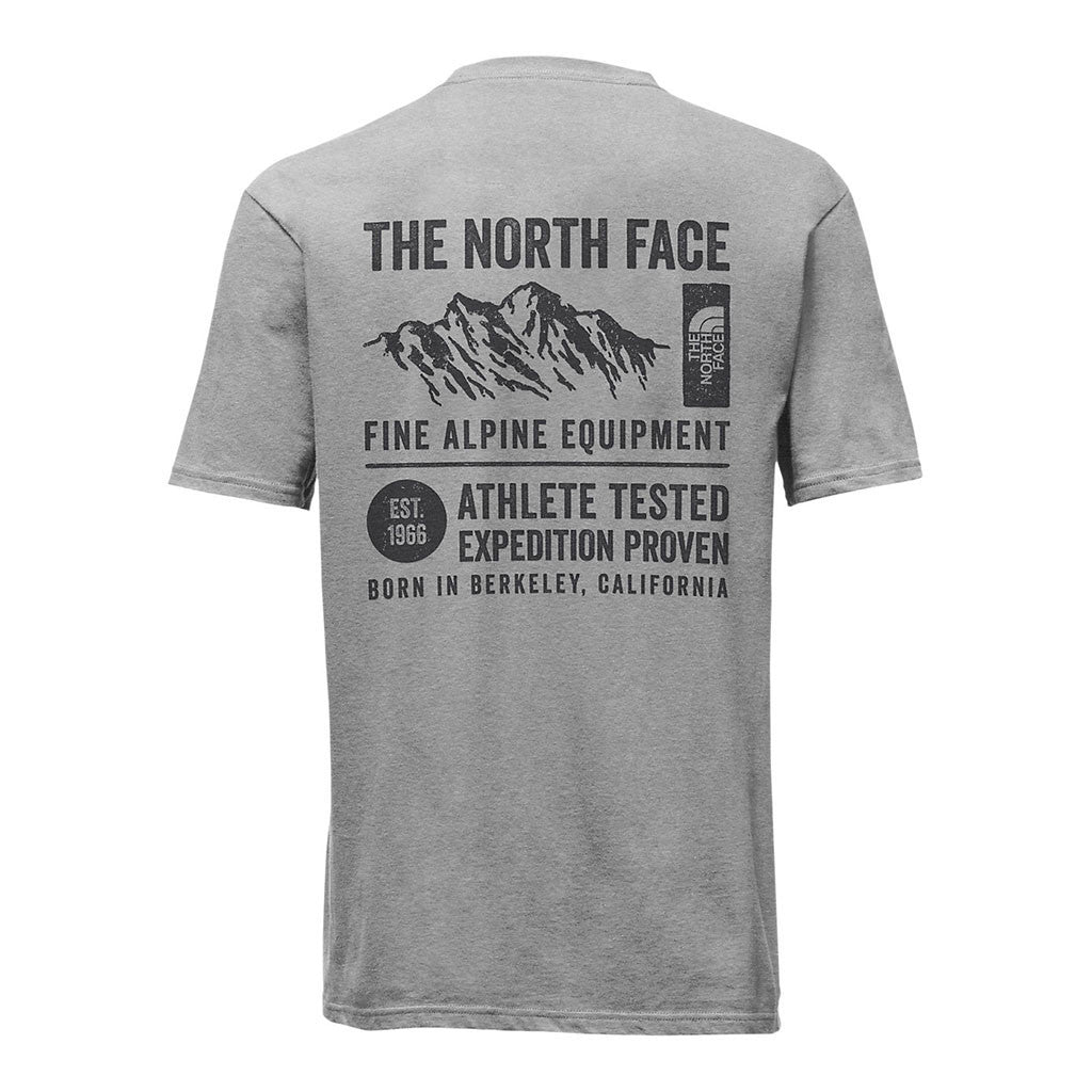 The north face mens short sleeve gps tri blend tee tide and mens short sleeve gps tri blend tee in light grey heather by the north face sciox Images