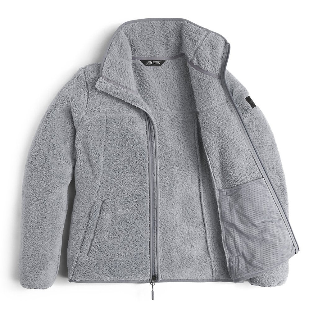 c314cf875849 The North Face Women s Campshire Full Zip Sherpa Fleece in Mid Grey