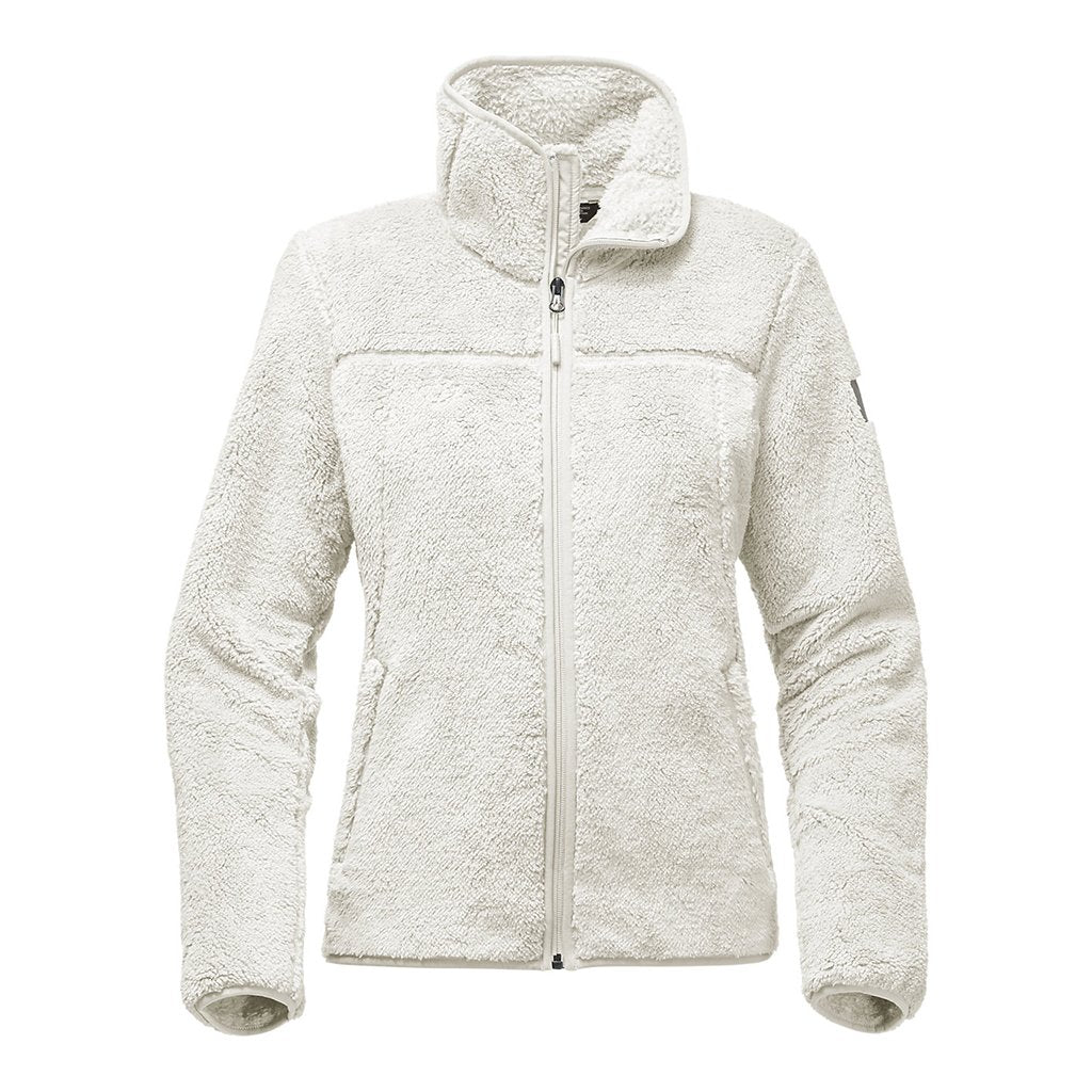 fd6129e0f55b The North Face Women s Campshire Full Zip Sherpa Fleece in Vintage White