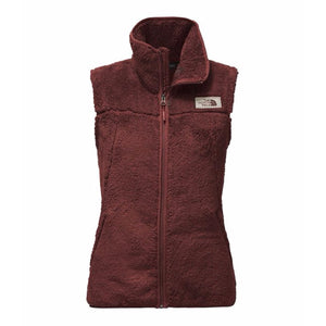 The North Face Women's Campshire Sherpa Vest in Sequoia Red