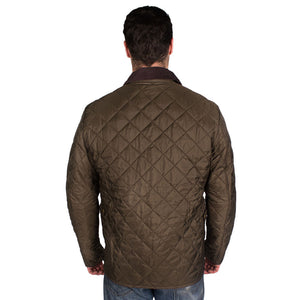 Tinford Quilted Jacket in Olive