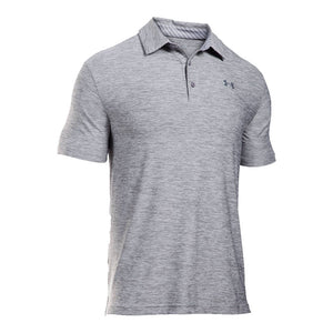 Playoff Polo in True Gray Heather by Under Armour - Country Club Prep
