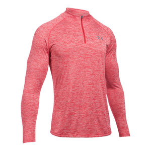 Under Armour Men's UA Tech™ ¼ Zip in Red/White