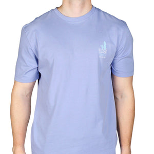 Westwind Graphic Tee Shirt in Silver Lake