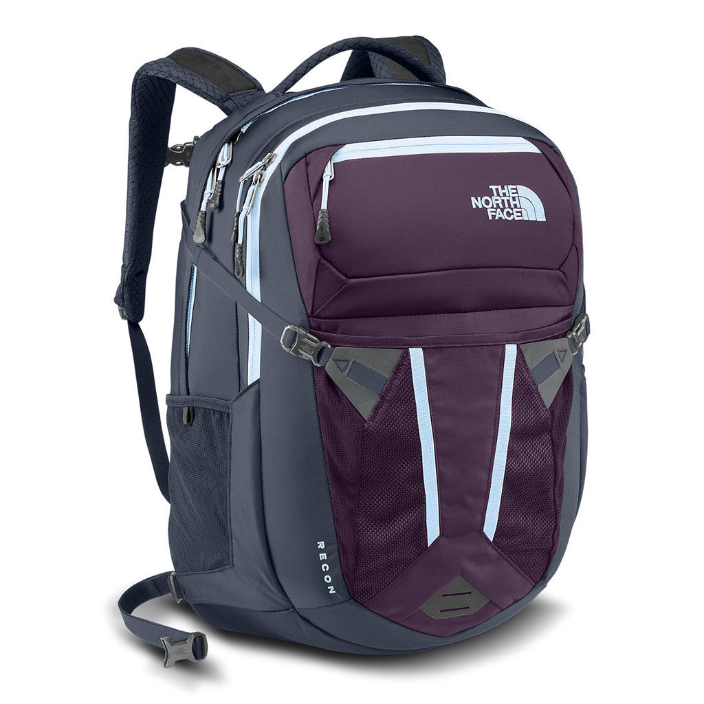 08cd3c27e purple and grey north face backpack