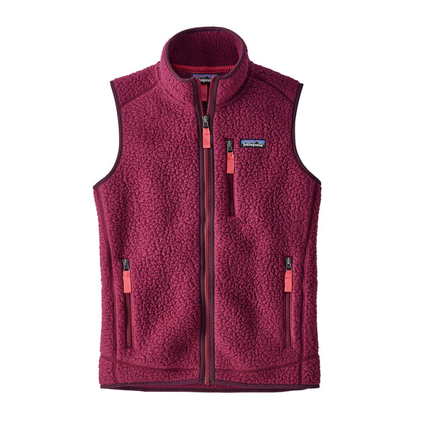 Women's Retro Pile Fleece Vest - FINAL SALE