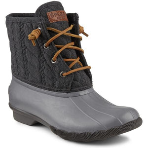 Women's Saltwater Rope Embossed Duck Boot - FINAL SALE