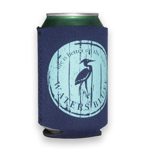 Wood Grain Can Holder in Navy by Waters Bluff Clothing Co.