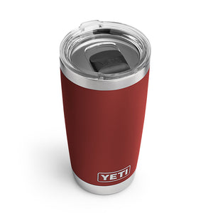 YETI 20 oz. DuraCoat Rambler Tumbler in Brick Red with Magslider™ Lid