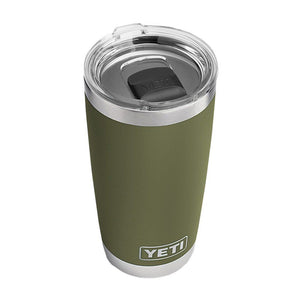 YETI 20 oz. DuraCoat Rambler Tumbler in Olive Green with Maglslider™ Lid