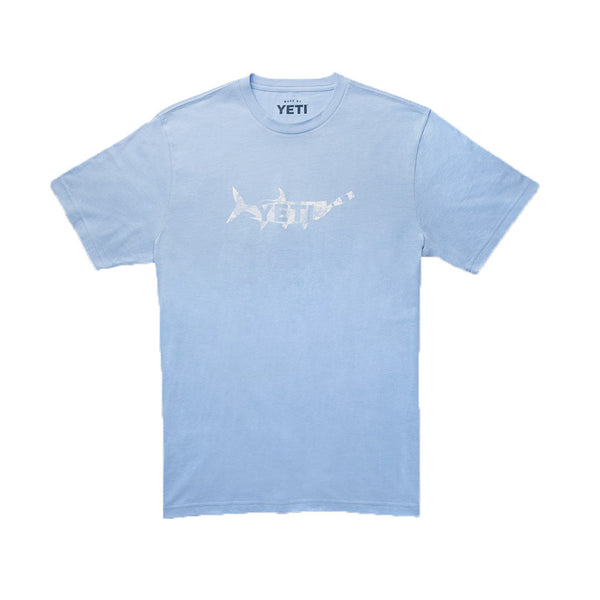 YETI Drink Like a Fish T-Shirt in Carolina Blue
