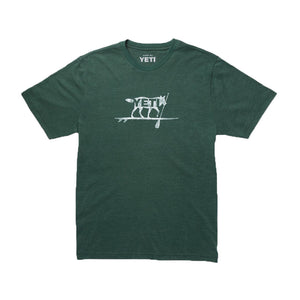 YETI Paddle On T-Shirt in Forest Green