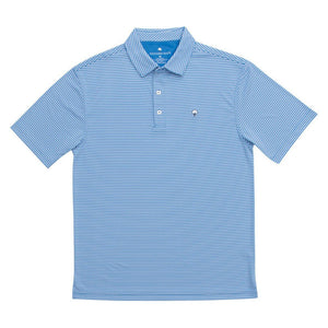 Andrews Performance Polo in Regatta Blue    - 1