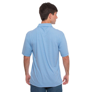 Andrews Performance Polo in Regatta Blue    - 3