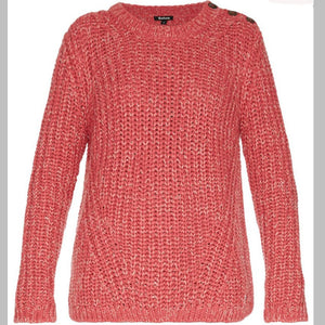 Rogan Sweater in Heritage Pink
