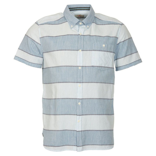 Barbour Short Sleeve Slim Fit Button Down Main