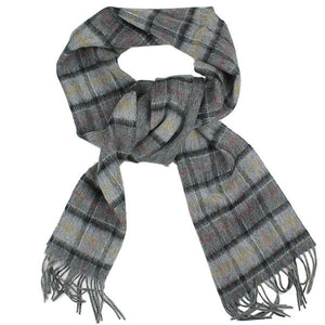 Double Faced Check Scarf - FINAL SALE