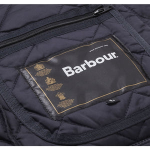 Heritage Liddesdale Quilted Jacket in Navy