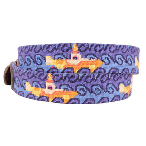 Beneath the Waves Needlepoint Belt by Parlour  - 2