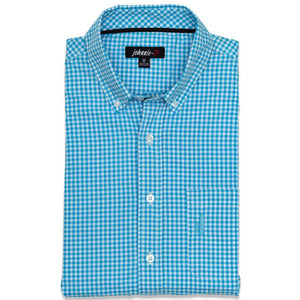 The Berner Button-Down in Blue Mist