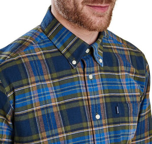 Castlebay Tailored Fit Button Down in Bright Blue