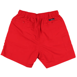 Chillaxer Shorts in Red   - 2